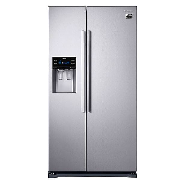 home kitchen equipment refrigerators samsung refrigerator side by side 555lt a twin. Black Bedroom Furniture Sets. Home Design Ideas